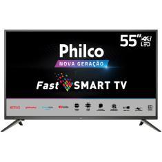 """Imagem de Smart TV LED 55"""" Philco 4K HDR PTV55M60SSG 3 HDMI"""