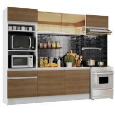 Cozinha Completa 1 Gaveta 7 Portas para Micro-ondas / Forno Diamante Madesa