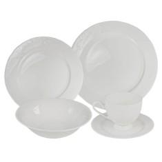 Aparelho de Jantar Redondo de Porcelana 20 peças - Provençal 100017 Wow