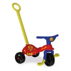Imagem de Triciclo com Pedal Xalingo Cachorrinho com Empurrador