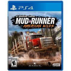 Jogo Mud Runner American Wilds PS4 Focus