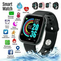 Imagem de Relógio inteligente y68 para homens e mulheres, pulseira esportiva, bluetooth, monitor de frequência