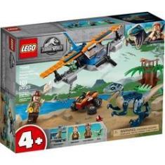 Imagem de LEGO Jurassic World - Velociraptor - Missão de Resgate com Biplano - 75942