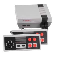 Imagem de Mini console de jogos de tv, console clássico retrô 8 bits portátil com 620 jogos, saída av, console