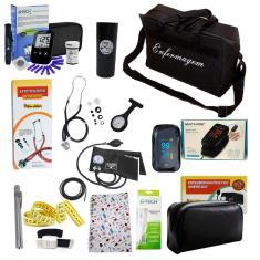 Imagem de Kit De Enfermagem Aparelho De Aferir Pressão -Completo