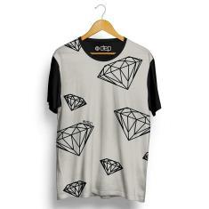 Imagem de Camiseta Dep Diamantes Bege