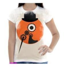 Imagem de Camiseta Camisa Feminina Orange Laranja Mecanica 27