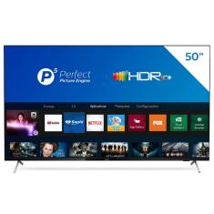 "Smart TV LED 50"" Philips 4K HDR 50PUG7625/78 3 HDMI"