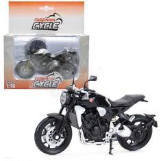 Imagem de Miniatura Moto Honda Cb 1000r California Cycle 1:18 Welly