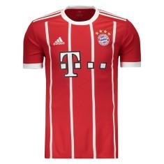 Camisa Bayern de Munique I 2017 18 Torcedor Masculino Adidas a5b75e9627898