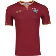 Camisa Fluminense III 2017 18 Sem Número Jogo Masculino Under Armour 2879033e445