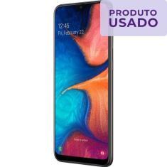 Imagem de Smartphone Samsung Galaxy A20 Usado 32GB Android