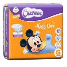 Imagem de Fralda Cremer Disney Baby Magic Care Tamanho G Jumbinho 20 Unidades Peso Indicado 9 - 13kg