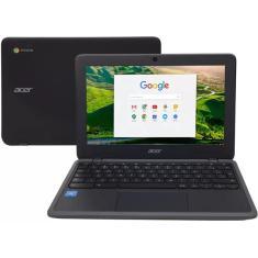 """Imagem de Notebook Acer Chromebook C733-C607 Intel Celeron N4020 11,6"""" 4GB eMMC 32 GB Chrome OS Wi-Fi"""