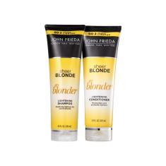 Kit Sheer Blonde Go Blonder John Frieda Shampoo Condicionador