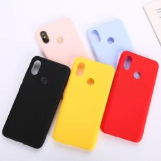 Imagem de Capa de silicone tpu fosca para xiaomi redmi, capa de celular para xiaomi redmi note 5 6 7 8 9 pro