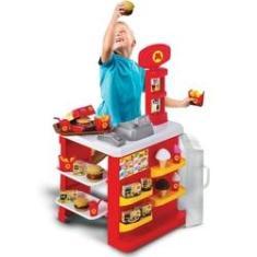 Imagem de Lanchonete Infantil Com Caixa Registradora - Magic Toys