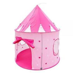 Imagem de Barraca Infantil Dobrável Tenda Castelo Das Princesas Cabana - Dm Toys