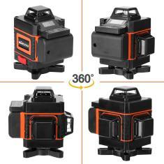 Imagem de Laser Nível 16 Linhas 4D Auto-nivelamento 360 Laser horizontal e vertical verde cruz verde
