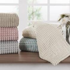 Imagem de Cobertor Solteiro Flannel Sion  - Casa & Conforto
