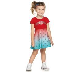 Imagem de Vestido Infantil Verão Mulher Maravilha, , Produto Licenciado - Romitex