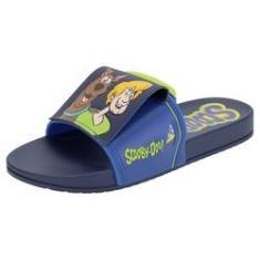 Imagem de Chinelo Infantil Slide Scooby Doo Friends Grendene Kids - 22404