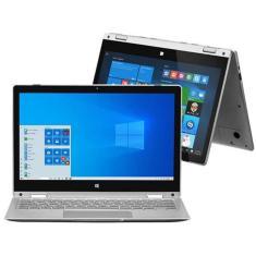 "Notebook Multilaser M11W Prime PC301 Intel Pentium N3700 11,6"" 4GB eMMC 32 GB Touchscreen Windows 10 Conversível"