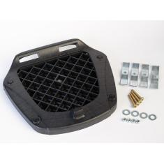 Imagem de Bau Para Moto 46 Litros Lente  Com Grade Externa.