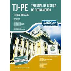 Imagem de Tribunal de Justiça Pernambuco - Técnico Judiciário - Equipe Alfacon - 9788583392453