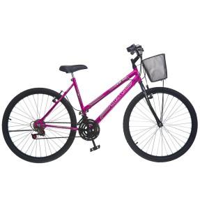 Bicicleta Colli Bikes 18 Marchas Aro 26 Freio V-Brake Allegra City 154
