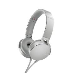Fone de Ouvido com Microfone Sony Mdr-Xb550Ap Gerenciamento chamadas