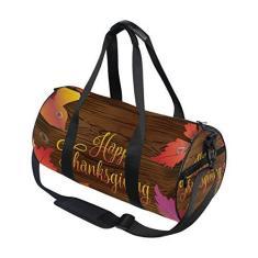 Imagem de Bolsa esportiva vintage de Ação de Graças, viagem, academia, ombro, bolsa de mão, para homens, mulheres, crianças, meninos e meninas