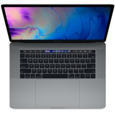 "Macbook Apple Macbook Pro Intel Core i7 8ª Geração 16GB de RAM SSD 512 GB Tela de Retina 15,4"" Radeon Pro 560X Mac OS High Sierra MR942"