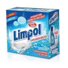 Imagem de Detergente em Tabletes para Maquina de Lavar Louca 500g 1 UN Limpol