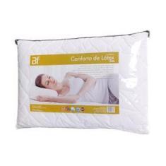 Imagem de Travesseiro Conforto Látex Slim com Capa Percal 180 Fios com Zíper