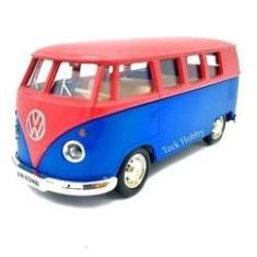 Imagem de Miniatura Carro Kombi T1 Transporter Volkswagen Combi 1:36