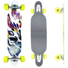 Skate Longboard - Vitsports Drop Thru Skull