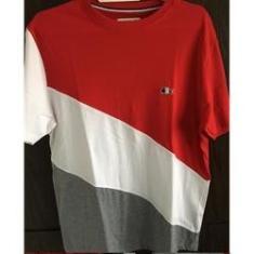 Imagem de Camiseta Lacosta Tricolor Diagonal   e