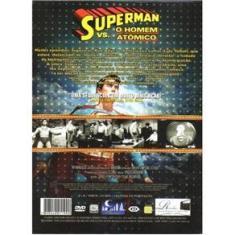 Imagem de DVD Duplo Super Heróis do Cinema Superman vs O Homem Atômico