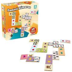 Imagem de Jogo Educativo Infantil Domino Numeros Nig Brinquedos - 0429