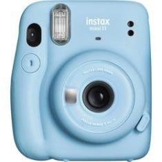 Câmera Instantânea Fujifilm Instax Mini 11 Azul (sky Blue)