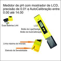 Imagem de Medidor de pH Digital Alta Precisão 0.01 Auto Calibração