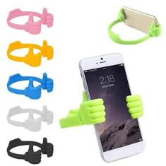Imagem de Suporte de celular para polegares, suporte de exibição de tablet para leitores eletrônicos e smartphones, acessórios de mesa de escritório