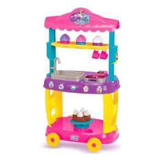 Imagem de Food Truck Infantil C/ Acessórios Cupcakes - Magic Toys