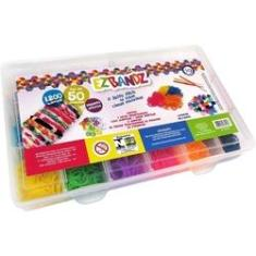 Imagem de Kit Fábrica de Pulseiras Com 1200 Elásticos - i9 Brinquedos