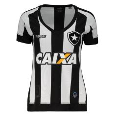 0b80629094 Camisa Feminina Botafogo I 2017 18 Torcedor Feminino Topper
