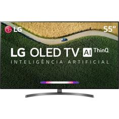 "Smart TV OLED 55"" LG ThinQ AI 4K 55B9PSB 4 HDMI"