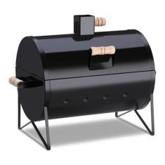 Imagem de Churrasqueira De Aço Portátil Barbecue Grill Churras Pop