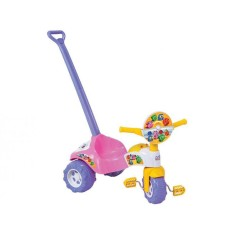 Imagem de Triciclo com Pedal Magic Toys Tico-Tico Formas