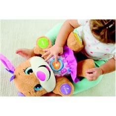 Imagem de Pelúcia de Atividades - Aprender e Brincar - Smart Stages - Irmã do Cachorrinho - Fisher-Price